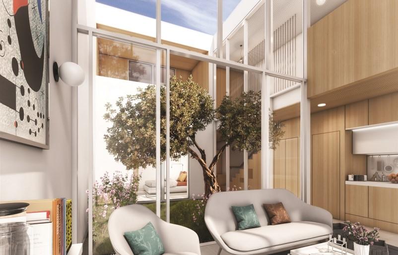 Excelente Moradia Geminada V3 localizada num empreendimento de luxo no centro de Vilamoura